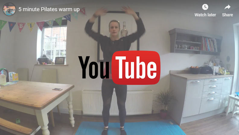 VIDEO – 5 minute Pilates warm up